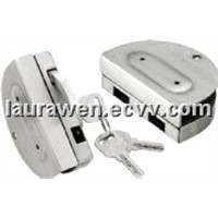 Openning outside double door lock for half-round HJ-638A