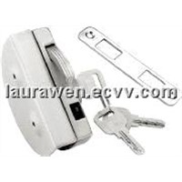 Openning outside single door lock for half-round HJ-666D