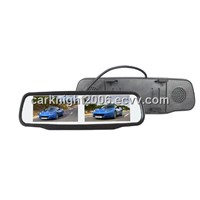 Rear View Mirror Touch Screen Monitor with  dual screen