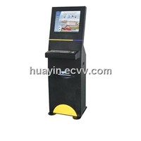 Self-service multi-media touch kiosk