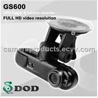 1080p car black box GS600 GPS