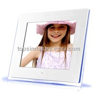 10.4inch Acrylic Digital Photo Frame with TV and Speaker output