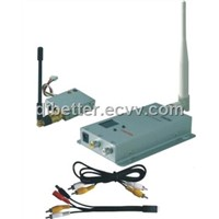 1.2G 100mW Wireless AV transmitter/receiver system