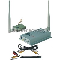 1.2G 400mW Wireless AV transmitter/receiver system