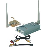 1.2G 800mW wireless AV transmitter/receiver system