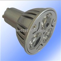 220V GU10 3*1W LED Spot Light