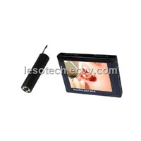 2.4GHz Wireless Inspection Camera with DVR Receiver,camera with LED night vision(WTE-810A)