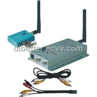 2.4G 400mW Wireless AV transmitter/receiver system