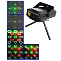 2-colors Mini Disco DJ Club Stage Light with Sound Active Function (H6)   $36.55