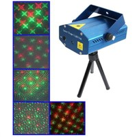 2-colors Mini Disco DJ Club Stage Light with Sound Active Function (YX-05)   $24.22