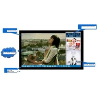32 inch network lcd advertising player