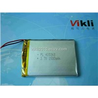415566 3.7V Lithium Polymer Rechargeable Battery, MID/Ebook Lithium Rechargeable Batteries