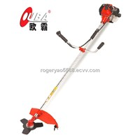 43cc petrol brush cutter with steel blade