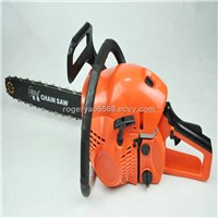 45cc gasoline chain saw with 18inch guide bar and blades