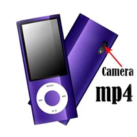 "4GB Slim 2.2""LCD MP3 MP4 Radio FM Player with Camera & Shakable Funtion"