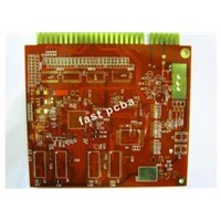 4 layer gold finger PCB for Amplifiers