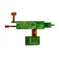 4 layer rigid + 2 layer flex PCB used for communication products