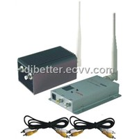 4channels 1.2G 3000mW wireless AV transmitter/receiver system