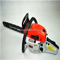 52cc gasoline chain saw with 18inch guide bar and blade