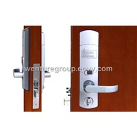 5 latches biometric fingerprint door lock with  automatic deadbolt--- BioKing D1