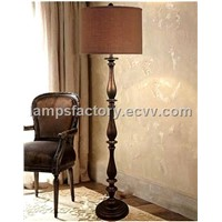 "64""H Oil Rubber Bronze Floor  Lamp(U75635FO )"