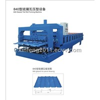 840 Steel Tile Forming Machine
