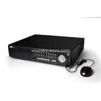 8CH H.264 Network 8 CH D1 200fps/240fps recording,4HDDs, 8CH audio/alarm, DVD backup,VSDVR-1008S