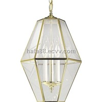 Antique art copper pendant lighting,best-selling brass hanging lamp
