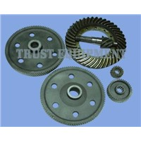 Bevel gear, 99pinion, 38 pinion, 19 pinion for reduction gear