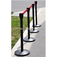 Black powder stanchion / Queue management / Tensabarrier