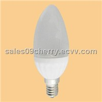 C37 Candle Light 180lm LED Bulb High Bright 22SMD CE RoHS