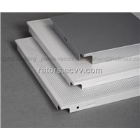 Clip in Aluminium False Ceiling Tiles/Metal suspended ceiling tiles
