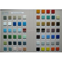 Colored Glass Mosaic