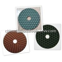 Cost-efficient Dry Polishing Pads For Granite and Marble