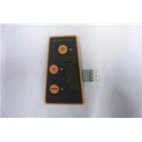 PET PC Membrane Keypad for SMD LED Resistors and Connectors