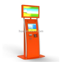 Dual Screens touch Kiosk