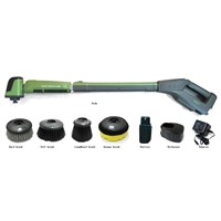 Electrical car cleaner,cordless&telescopic,operated by recharged battery