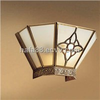 Fasion copper and brass wall lighting,Best price modern home or resturant wall light