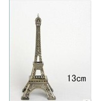 Free shipping Eiffel Tower,hot selling tower for art collectible/Size:13cm