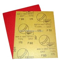 GLOBUS brand red sand paper