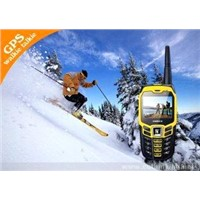 GPS GSM Tracker Yellow Sports Cell Phone GK3537