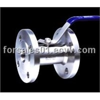 Guangzhou-style flange conection ball valve