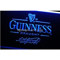 Guinness beer bar sign led sign light sign led display