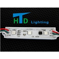 HTD-753IC Three lamps 5050 SMD plastic shell full-color LED module