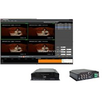 H.264 realtime track video monitor mobile DVR