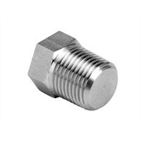 Hex thread plug
