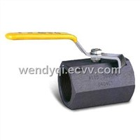 Hexangular Carbon Steel Ball Valves