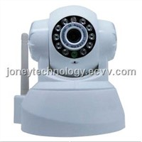 High Quality CMOS 300,000 Pixels Indoor IP P/T Camera