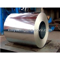 Hot galvanized steel sheet rolls