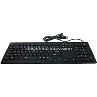 IP68 Industrial Silicone Keyboard with Touchpad (X-TP106SD)